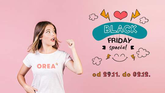 OREA BLACK FRIDAY SALE