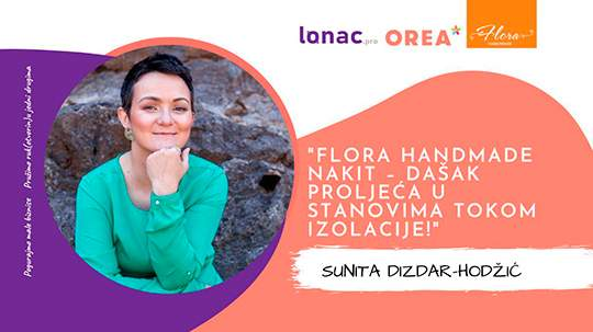 LONAC & OREA: Interview with Sunitom Dizdar-Hodžić: Flora jewelry