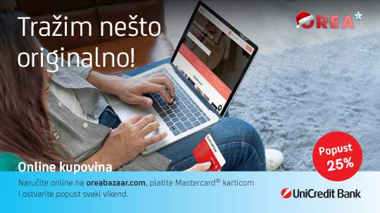 25% Discount with your UniCredit Mastercard