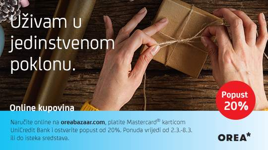20% discount with UniCredit Mastercard cards