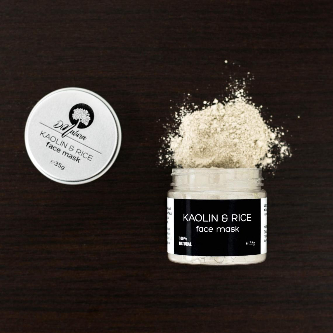 Kaolin & Rice Face Mask