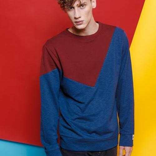 Color blocking jumper AW/18-19
