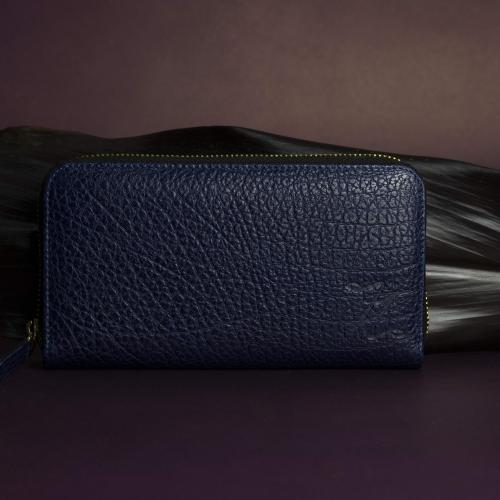 Ella wallet blue