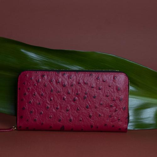 Ella wallet red